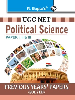 Buy UGC-NET Political Science Previous Papers (Solved) 1st Edition: Book