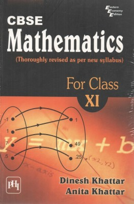 Buy CBSE Mathematics: Thoroughly Revised as Per New Syllabus for Class - 11 1st Edition: Book