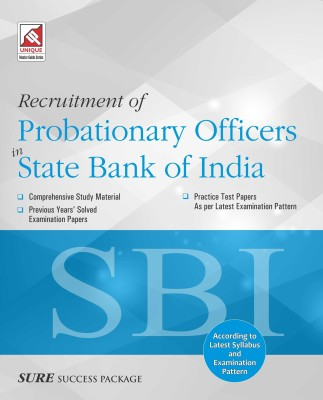 SBI PO Recruitment of Probationary Officers in State Bank of India price comparison at Flipkart, Amazon, Crossword, Uread, Bookadda, Landmark, Homeshop18