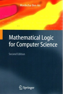 Mathematical Logic For Computer Science 0002 Edition Mordechai Ben Ari Hatke9781852333195 on 2779 Numbers 1 10