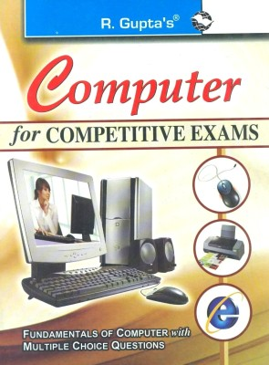 Buy Computer for Competitive Exams: Fundamental of Computer with MCQs 1st Edition: Book