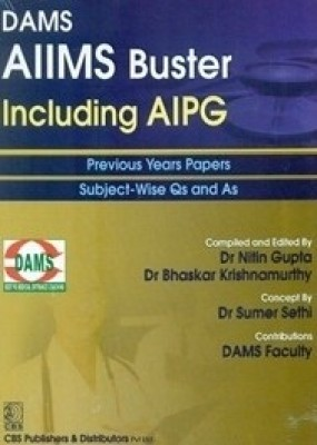 Aiims Buster Including Aipg Previous Years Papers Subject Wise And