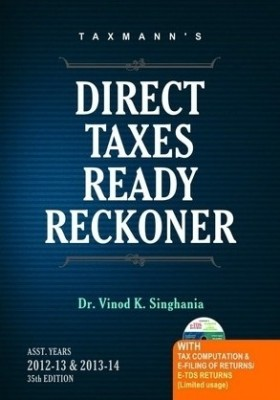 Buy Direct Taxes Ready Reckoner 35th Edition: Book