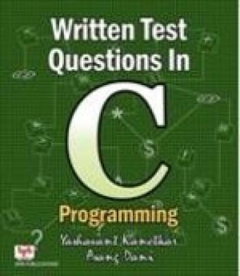 Written test questions in java programming by yashavant kanetkar