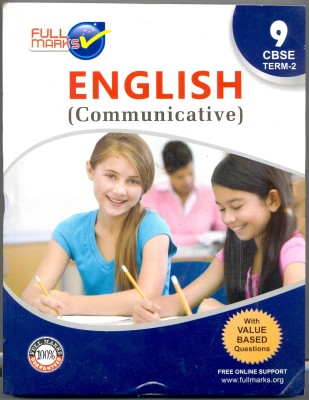 Buy Full Marks English Communicative Class 9: Book