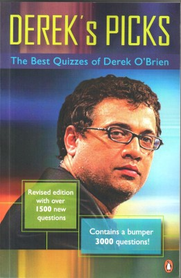 Dereks Picks : The Best Quizzes of Derek OBrien price comparison at Flipkart, Amazon, Crossword, Uread, Bookadda, Landmark, Homeshop18