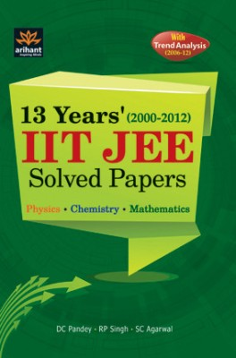 Buy 13 Years' IIT JEE Solved Papers (2000-2012) 01 Edition: Book