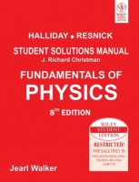 Fundamentals Of Physics: Student Solutions Manual 8th Edition: Book