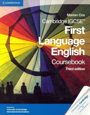 Buy Cambridge IGCSE First Language English Coursebook Third edition Edition: Book