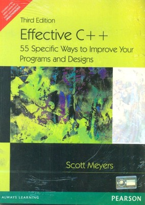 Buy Effective C++: 55 Specific Ways to Improve Your Programs and Designs 3rd Edition: Book
