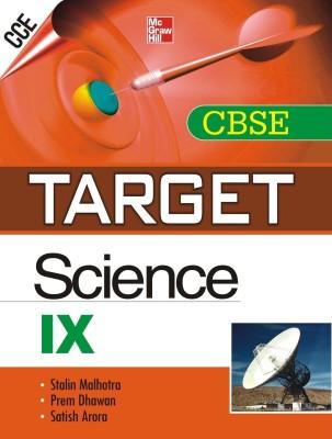 Buy TARGET CBSE Science (Class - IX) 1st  Edition: Book