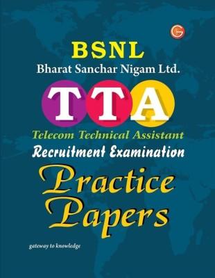 BSNL Bharat Sanchar Nigam Limited TTA Telecom Technical Assistant Recruitment Examination Practice Papers price comparison at Flipkart, Amazon, Crossword, Uread, Bookadda, Landmark, Homeshop18