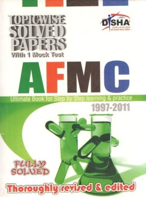 Buy AFMC Topic-Wise Solved Papers (1997-2011): Book