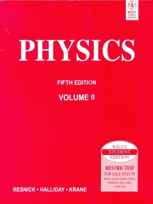 Solution Physics By Resnick Halliday Krane 5th Ed Vol 2