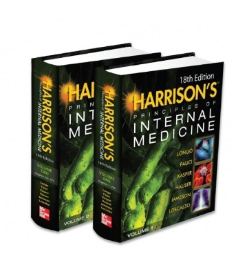 Buy Harrison's Principles of Internal Medicine (Set of 2 Volumes) 18 Edition: Book