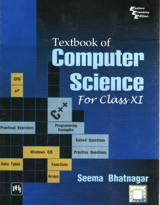Buy Textbook Of Computer Science (For Class Xi) 1st Edition: Book
