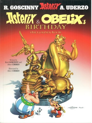 Asterix and Obelix's Birthday : The Golden Book 34 price comparison at Flipkart, Amazon, Crossword, Uread, Bookadda, Landmark, Homeshop18