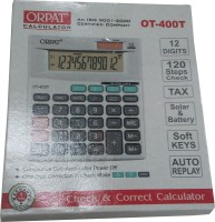 Orpat OT 400T Basic: Calculator