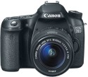 Canon EOS 70D SLR - Black, With Kit EF-S 18 - 55 Mm IS STM