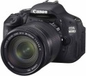 Canon EOS 600D SLR - Black, With Kit II EF S18-135mm IS Lens