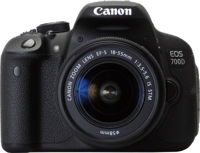 Canon EOS 700D SLR - Black, With  18 - 55 Mm Kit