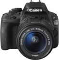 Canon EOS 100D SLR - Black, With  18 - 55 Mm Kit