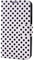 KolorFish Flip Cover For Samsung Galaxy Note N7000 - White
