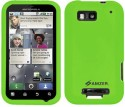 Amzer Case for Motorola DEFY MB525, Motorola DEFY Plus - Green