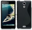 S-Line Case For Sony Xperia ZR - Black