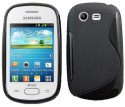 Amzer Case For Samsung Galaxy Star Duos GT-S5282 - Black