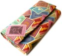 Mad(e) In India Indian Stamps Womens  Clutch - Multicolor