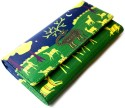 Mad(e) In India Gond Art  Clutch - Green