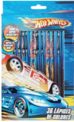Buy Hot Wheels Color Pencil: Color Pencil