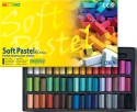 Mungyo Soft Pastel Crayons - Set Of 48, Assorted