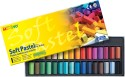 Mungyo Soft Pastel Crayons - Set Of 32, Assorted