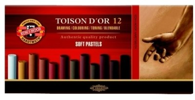 Buy Koh-I-Noor Hardtmuth Toison D'Or Dry Pastel Crayon: Crayon