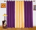 Dekor World Enticing Plain Door Curtain - CRNDQAY6C3XFSGQR