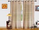 Dekor World Elegant And Exquisite Sheer Door Sheer Curtain - CRNDQAY6FZYZYHU5