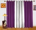 Dekor World Enticing Plain Door Curtain