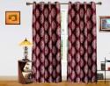 Dekor World Intricate Damask Door Curtain - CRNDQAY6SC5HBVU9