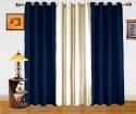 Dekor World Enticing Plain Door Curtain - CRNDQAY6W3HKCW6F