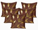 Dekor World Bouquet Of Leaves Cushions Cover - Pack Of 5 - CPCDPFFC8HDHXESZ
