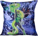 MeSleep Green Lantern Cushion Cover - Pack Of 1