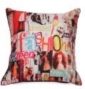 RASBERRIE Retro Fashion Cushion Cover - Pack Of 1