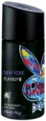 Buy Playboy New York Deo Spray  -  150 ml: Deodorant