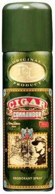 Buy Lomani Cigar Commander Deo Spray  -  200 ml: Deodorant