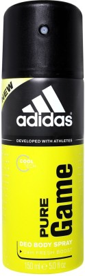 Buy Adidas Pure Game Deodorant Spray  -  150 ml: Deodorant