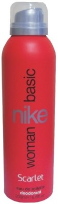 Buy Nike Basic Scarlet Deo Spray  -  200 ml: Deodorant
