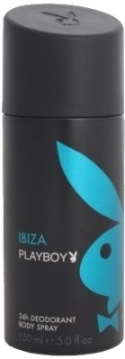 Buy Playboy Ibiza Deo Spray  -  150 ml: Deodorant
