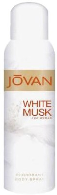 Buy Jovan White Musk Deo Spray  -  150 ml: Deodorant